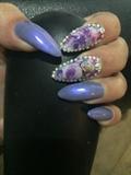 Floral/purple