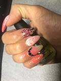 Pink/glitter