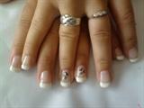 gels and nail art wedding nails