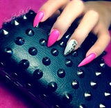 neon barbie claws