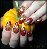 Fall almond