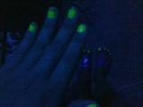 fluorescente green