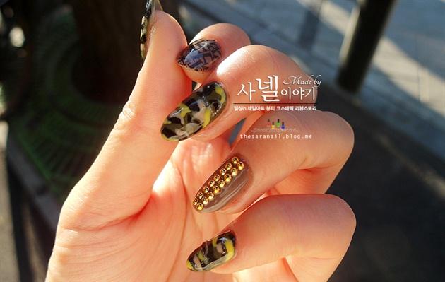 Army Nail Art army camo nail art