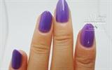 light purple nail polish
