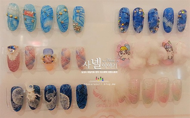 Awesome Korean Nail Art Nail Art Gallery