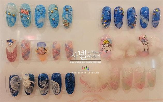 Awesome korean nail art nail art gallery awesome korean nail art prinsesfo Gallery