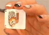 Cute bear nail art