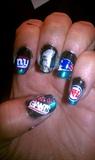 Superbowl XLVI nails!