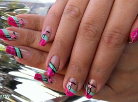 nail art: summer is coming2