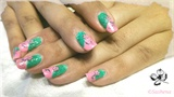 flowers_pink_green