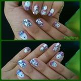 Floral_glitter
