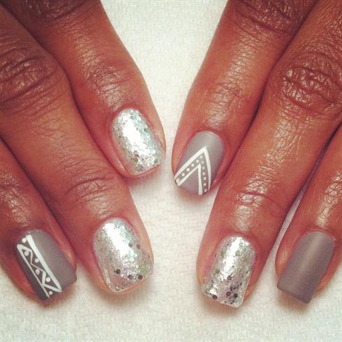 Spa Manicure With Caption Polish
