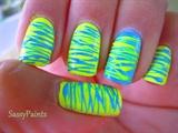 Neon Spun Sugar