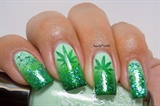 Weeds Inspired Nails