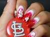 St Louis Cardinals Nails