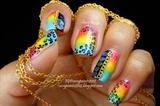 Rainbow Punk Nails