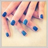 Blue Polkadots
