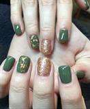 Rose Gold & Vert