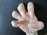 Sculptured Gel nails
