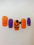 'Halloween' Gel Art