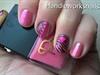 Pink Neon Zebra