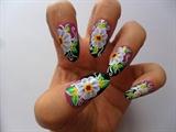 flowers aand swirls