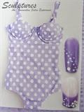 Purple Polka Dots by Cathelia