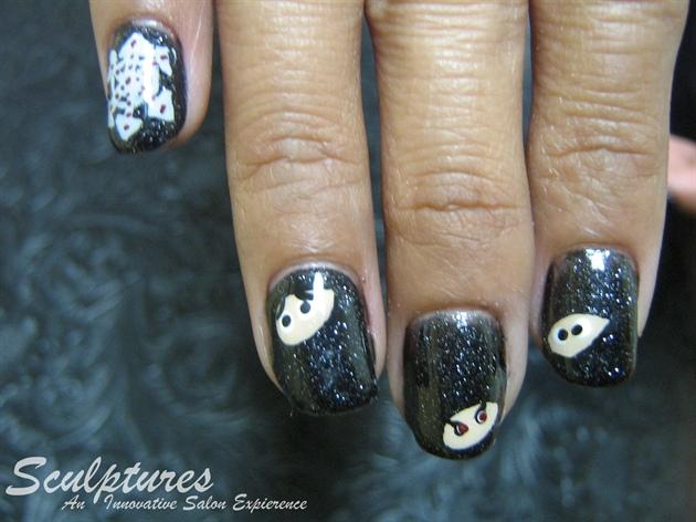 Ninja Nails by Amanda
