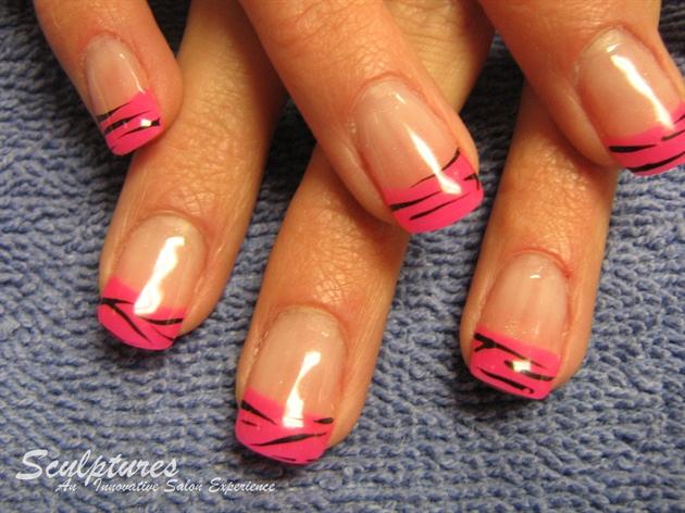Pink Zebra by Cathelia
