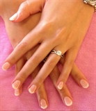 Sculpted Gel French