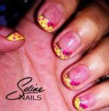Pink&Yellow Polka-dots