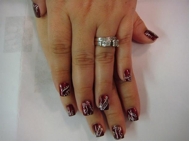 Multi-colored Nail Art