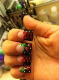Cherry 🍒 Corset Nails