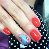 My Friend/Coworker, Caryn, Nail Art
