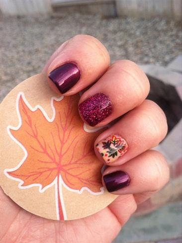 Fall/Autumn Nail Art