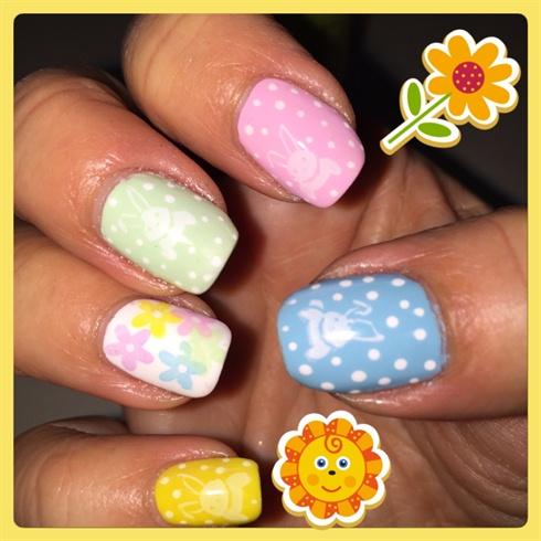 Easter Spring Nails