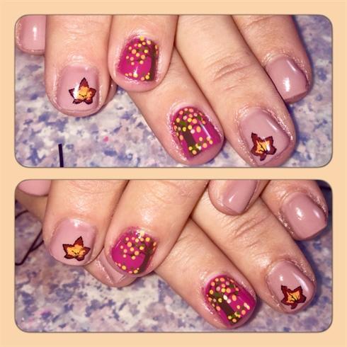 Fall Gel Nails