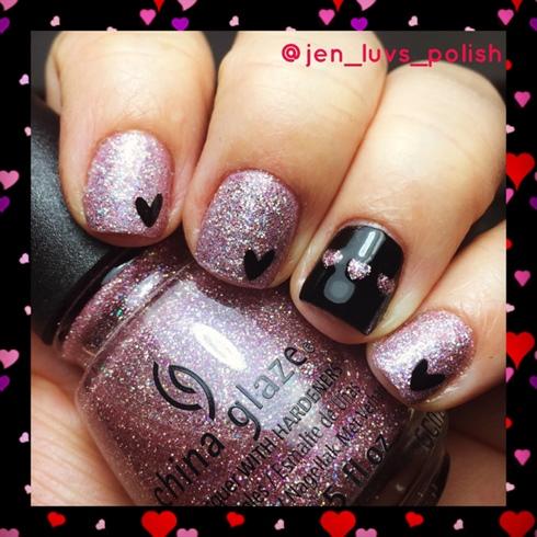 Valentine's Heart ❤️ Nails