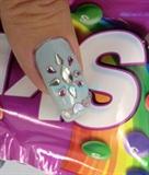 Tiffany Blue Easter Egg Nail Art