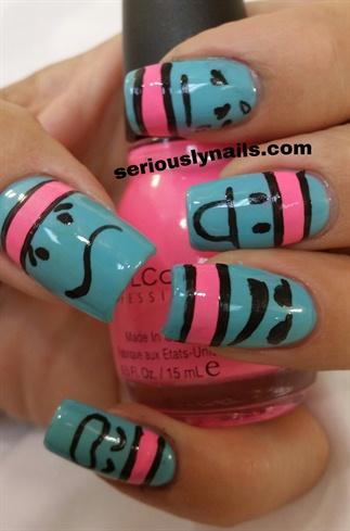 emoji  nail art gallery