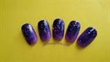 Ombre in Purple