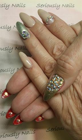 Louboutin Valentine's Nails!