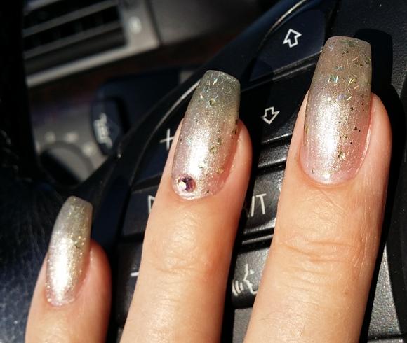 Holo & Glitter Fade
