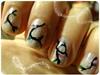 Christmas Light Nails