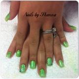 Green Acrylic Fade