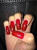 Blood Red Artisan Gel Polish
