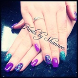 Sculpted extensions w/ Gelish