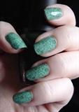 Green Floral Konad