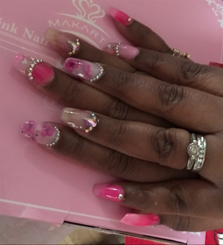 Pink and Bling