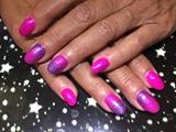 Polka-Dottie-Hottie w.pigment & glitter